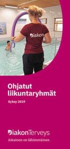 Ohjatut liikuntaryhmät syksyllä 2019: pdf-esite